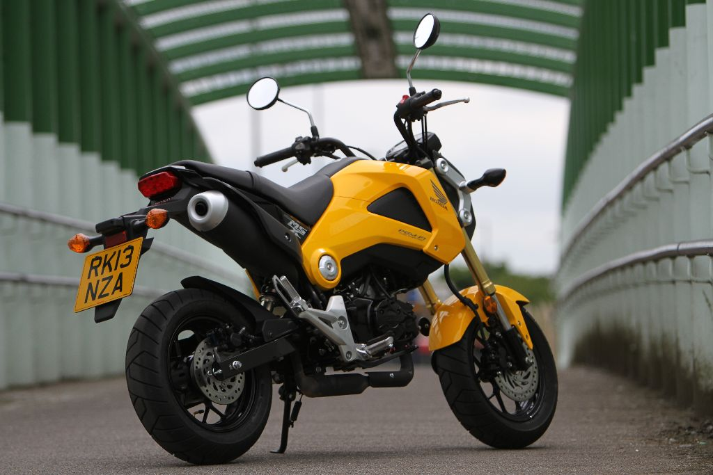 honda msx125 mini street x treme road tests 2commute. Black Bedroom Furniture Sets. Home Design Ideas