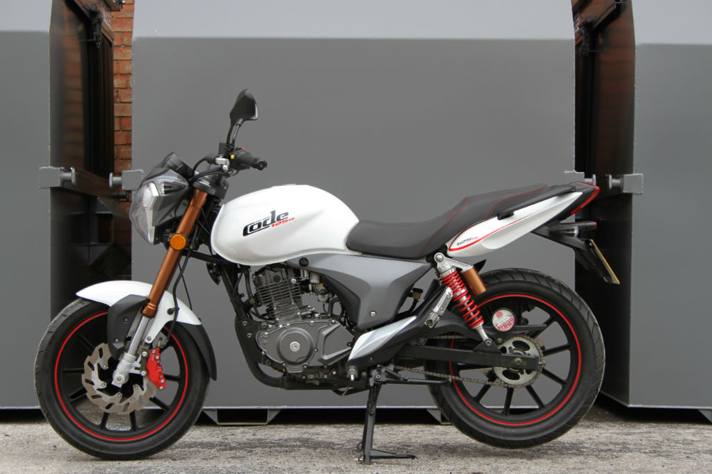 Some bikes just look and feel right; this nifty little 125cc KSR Code ...