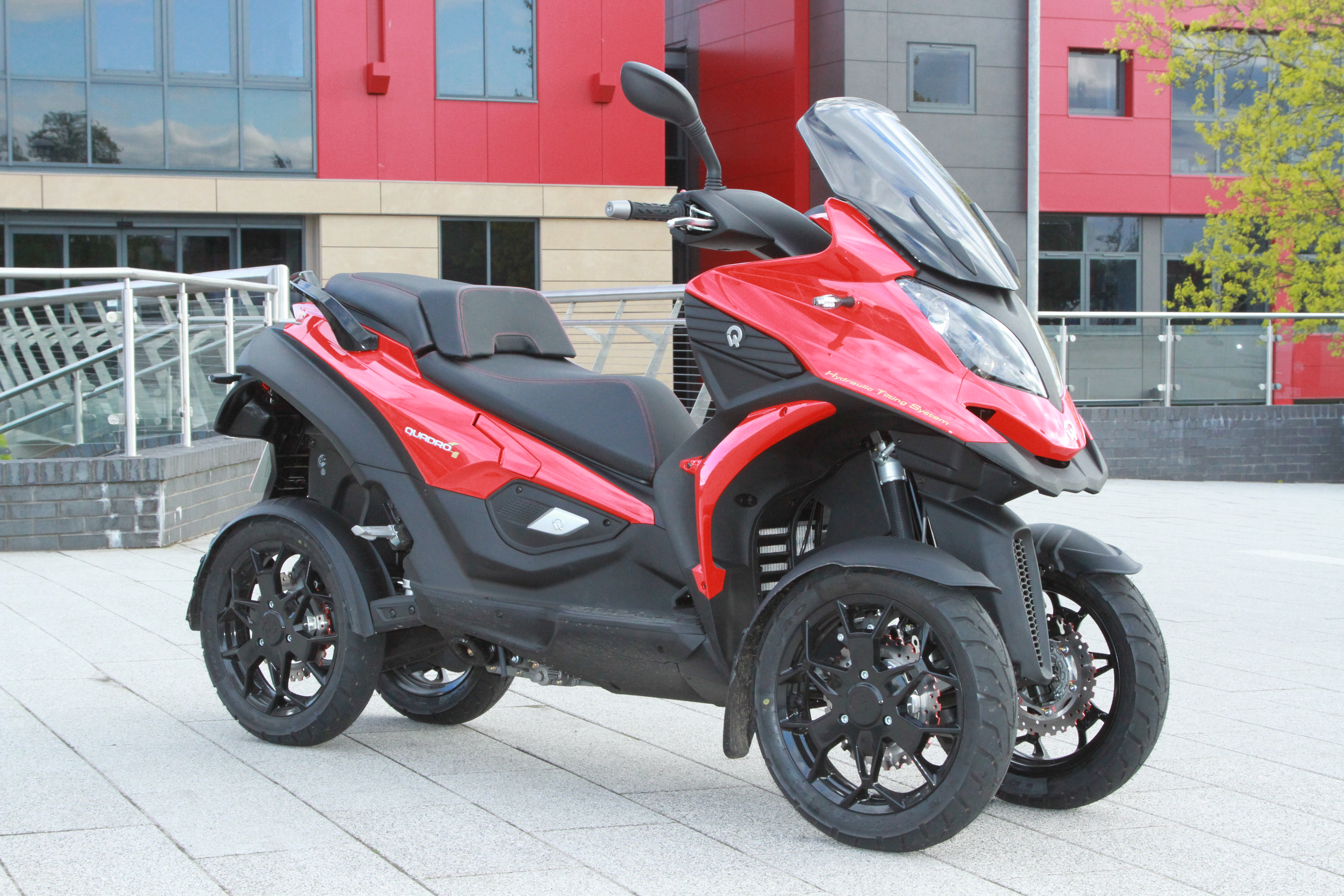 Yamaha Four Wheelers For Sale >> Quadro4: Exclusive UK first ride » Road Tests » 2Commute