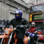 3-motorcyclists-with-bus-and-taxi-in-London-1024x776